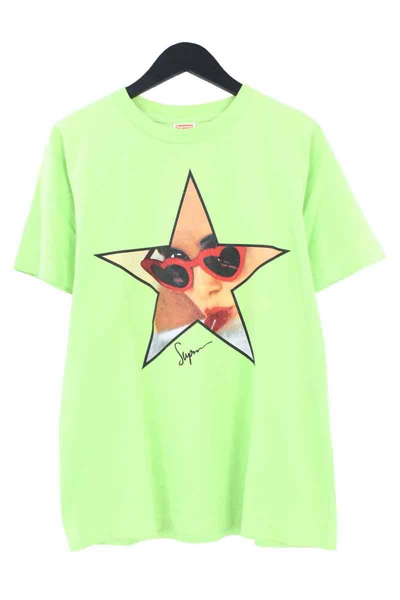 シュプリーム/SUPREME 【08SS】【LOLITA TEE】ロリータフェイスプリントTシャツ(M/グリーン)【HJ12】【メンズ】【016081】【中古】bb127#rinkan*B