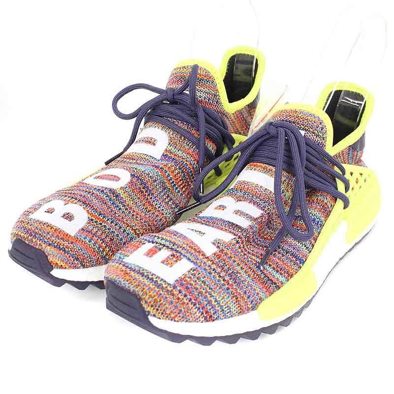 アディダス/adidas ×ファレルウィリミアムズ 【PW HUMAN RACE NMD TR MULTI】【AC7360】ヒューマンレースローカットスニーカー(27.5cm/オレンジ)【FK04】【メンズ】【小物】【715081】【中古】bb212#rinkan*S