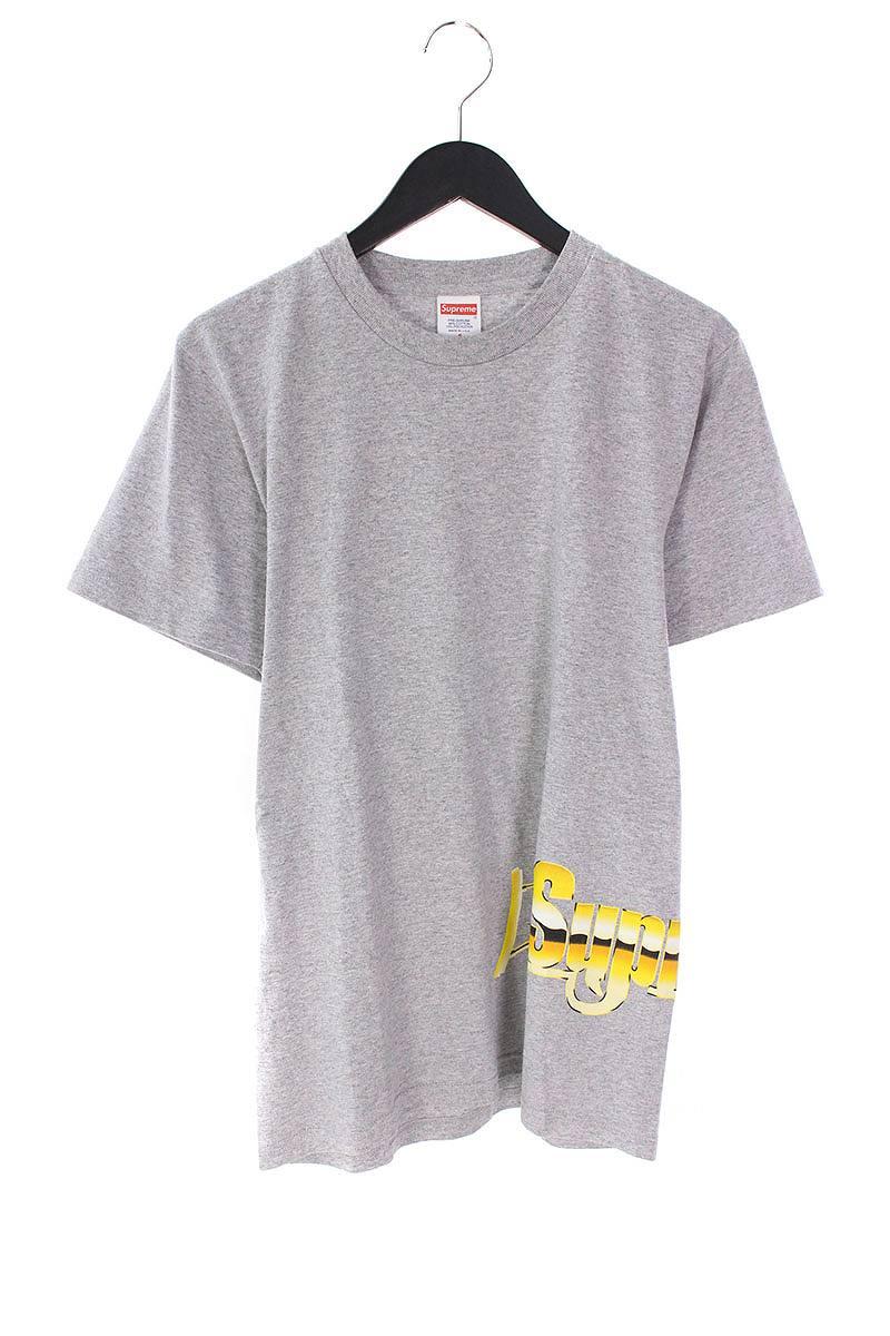 シュプリーム/SUPREME 【17SS】【Automatic Tee】オートマティックTシャツ(S/グレー×イエロー)【FK04】【メンズ】【325081】【中古】bb81#rinkan*B