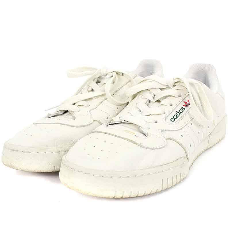 アディダス/adidas ×カニエウエスト 【YEEZY POWERPHASE】【CQ1693】イージーパワーフェーズスニーカー(27cm/ホワイト)【SB01】【メンズ】【小物】【225081】【中古】bb154#rinkan*B