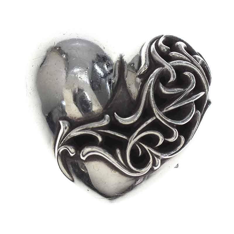 大流行中! クロムハーツ/Chrome Hearts 【BUCKL HEART1.5/ラージハート】シルバーベルトバックル(シルバー/145.46g) Hearts 【BUCKL【SJ02】【小物】【925081】【】bb13#rinkan*B, 本むらさき:6373bdce --- cpps.dyndns.info