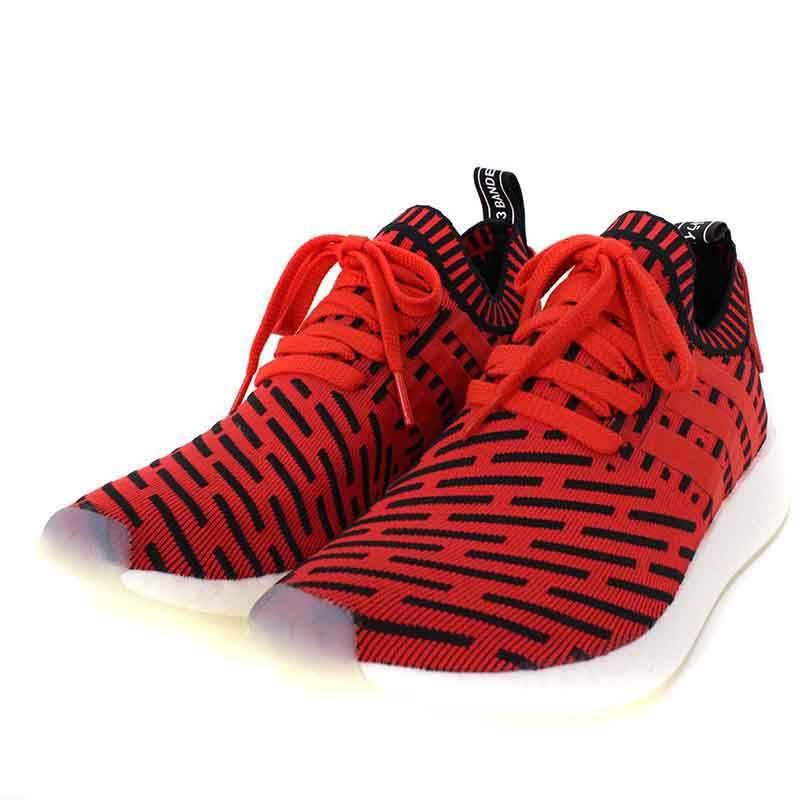 アディダス/adidas 【NMD_R2 PK】【BB2910】エヌエムディースニーカー(28cm/レッド×ブラック)【OM10】【メンズ】【小物】【426081】【中古】bb51#rinkan*S