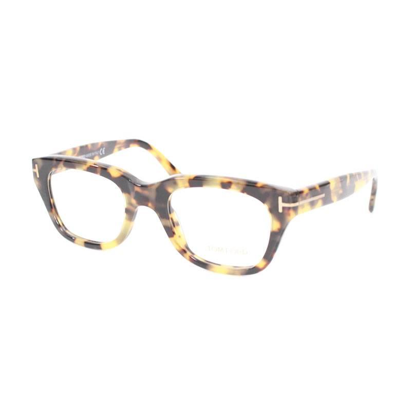 トムフォード/TOMFORD 【TF5178】べっ甲調ウェリントンサングラス眼鏡(ベージュ調)【BS99】【小物】【706081】【中古】bb51#rinkan*A