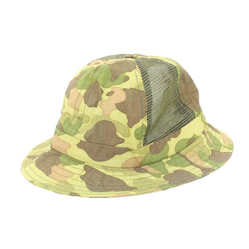 シュプリーム/SUPREME 【12SS】【Side Mesh Camo Bell Hat】サイドメッシュ総柄ハット(グリーン調)【FK04】【小物】【706081】【中古】bb223#rinkan*B