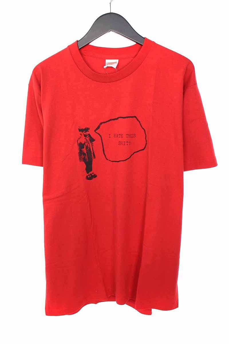 シュプリーム/SUPREME 【13SS】【Problem Child Tee】フロントプリントTシャツ(L/レッド)【SB01】【メンズ】【506081】【中古】bb131#rinkan*S