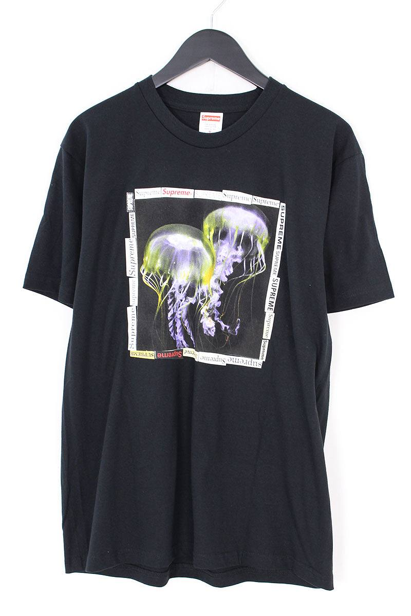 シュプリーム/SUPREME 【18SS】【Jellyfish Tee】ジェリーフィッシュTシャツ(M/ブラック)【SJ02】【メンズ】【506081】【中古】bb131#rinkan*S