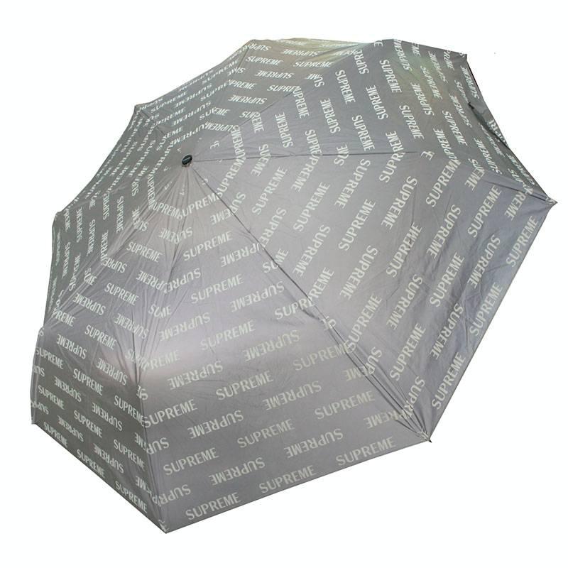 シュプリーム/SUPREME 【16AW】【ShedRain Reflective Repeat Umbrella】リフレクトロゴアンブレラ(シルバー)【FK04】【小物】【616081】【中古】bb173#rinkan*B