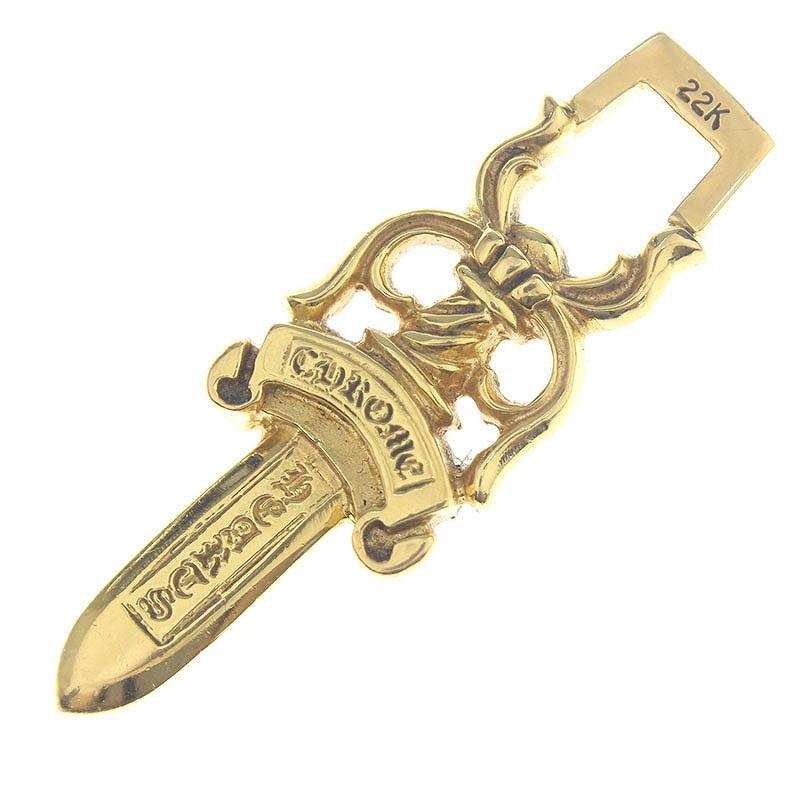 dfb892463ba6 Chromic Hertz  Chrome Hearts.  22K  10DAGGER  10 dagger pendant  the gold  necklace top