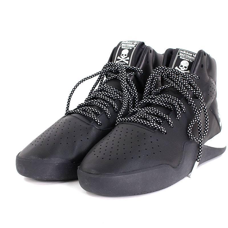 マスターマインド/mastermind ×アディダス/adidas 【BA9727 TUBULAR INSTINCT MMJ】チューブラスニーカー(27.5cm/ブラック)【BS99】【メンズ】【小物】【107081】【中古】bb14#rinkan*A