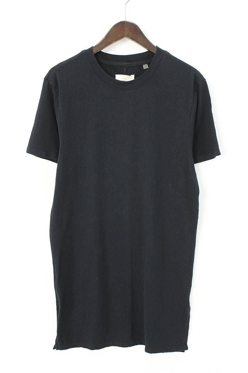 フォグ/FOG 【COLLECTION TWO】サイドスリットロングTシャツ(XS/ブラック)【OM10】【メンズ】【516081】【中古】bb30#rinkan*B