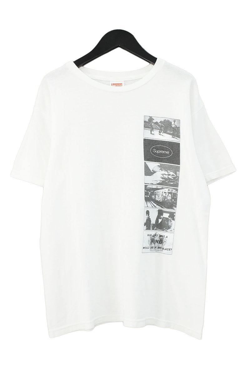 シュプリーム/SUPREME 【12SS】【Die In My Place Tee】フォトプリントTシャツ(S/ホワイト)【OM10】【メンズ】【516081】【中古】bb127#rinkan*B