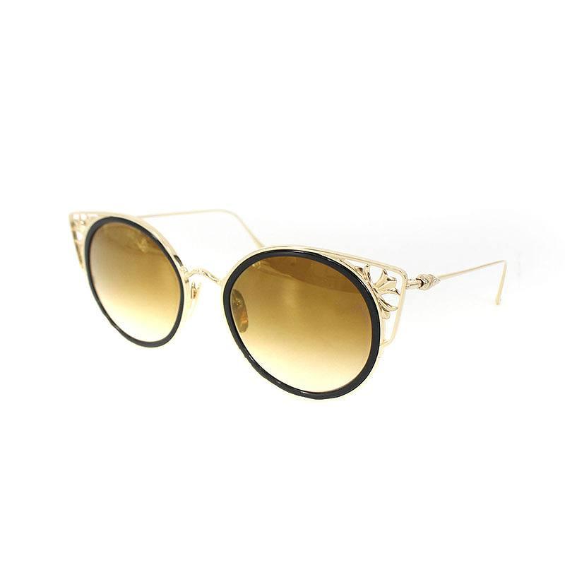 ba31c9a314c Chromic Hertz  Chrome Hearts.  BLOW IT BLUE  CH plus   Boston model gold  coating sunglasses