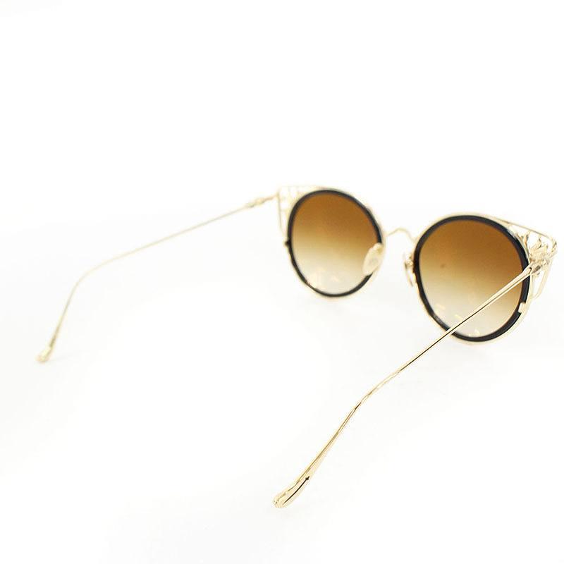 d941265cdcf Chromic Hertz  Chrome Hearts CH plus   Boston model gold coating sunglasses  (gold X brown) bb234 rinkan B