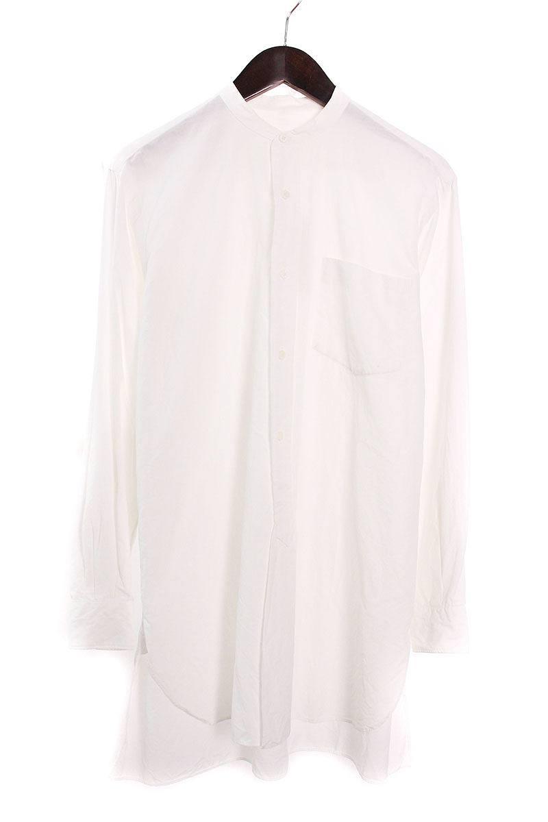 コモリ/COMOLI 【15SS】【101-02003】ポケット付き長袖シャツ(1/ホワイト)【BS99】【メンズ】【107081】【中古】bb157#rinkan*B