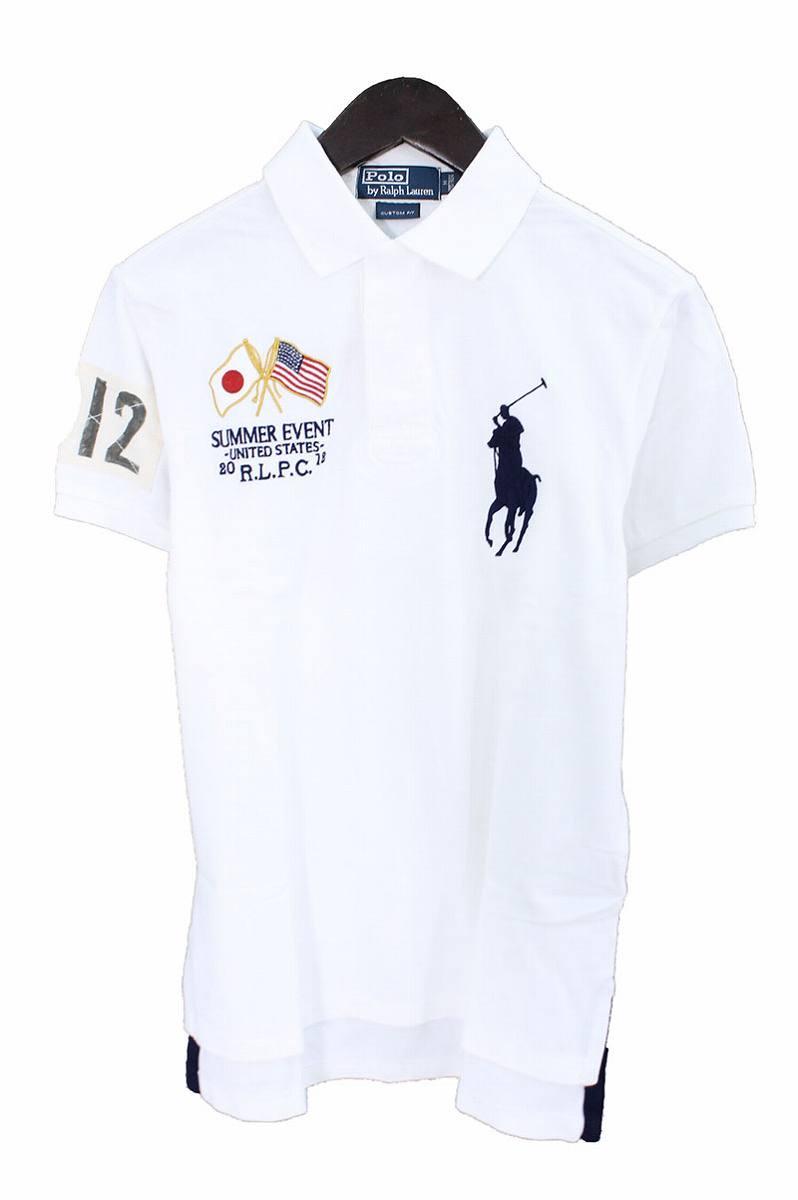 ポロラルフローレン/Polo Ralph Lauren 【ビッグポニー】SUMMER EVENTカントリーポロ半袖ポロシャツ(M/ホワイト)【BS99】【メンズ】【107081】【中古】bb13#rinkan*B