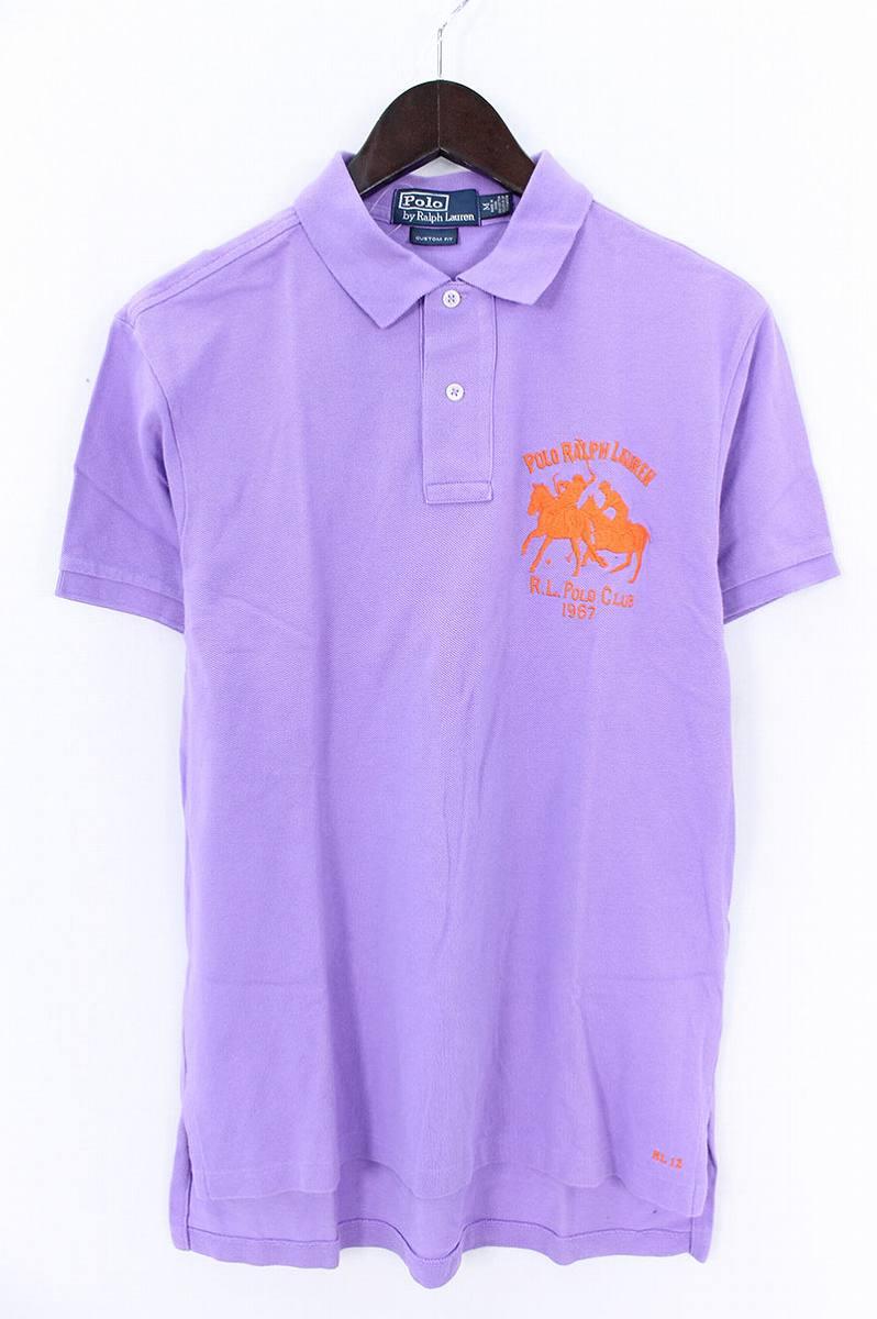 ポロラルフローレン/Polo Ralph Lauren R.L.POLO CLUB 1967半袖ポロシャツ(M/パープル)【BS99】【メンズ】【107081】【中古】bb13#rinkan*B