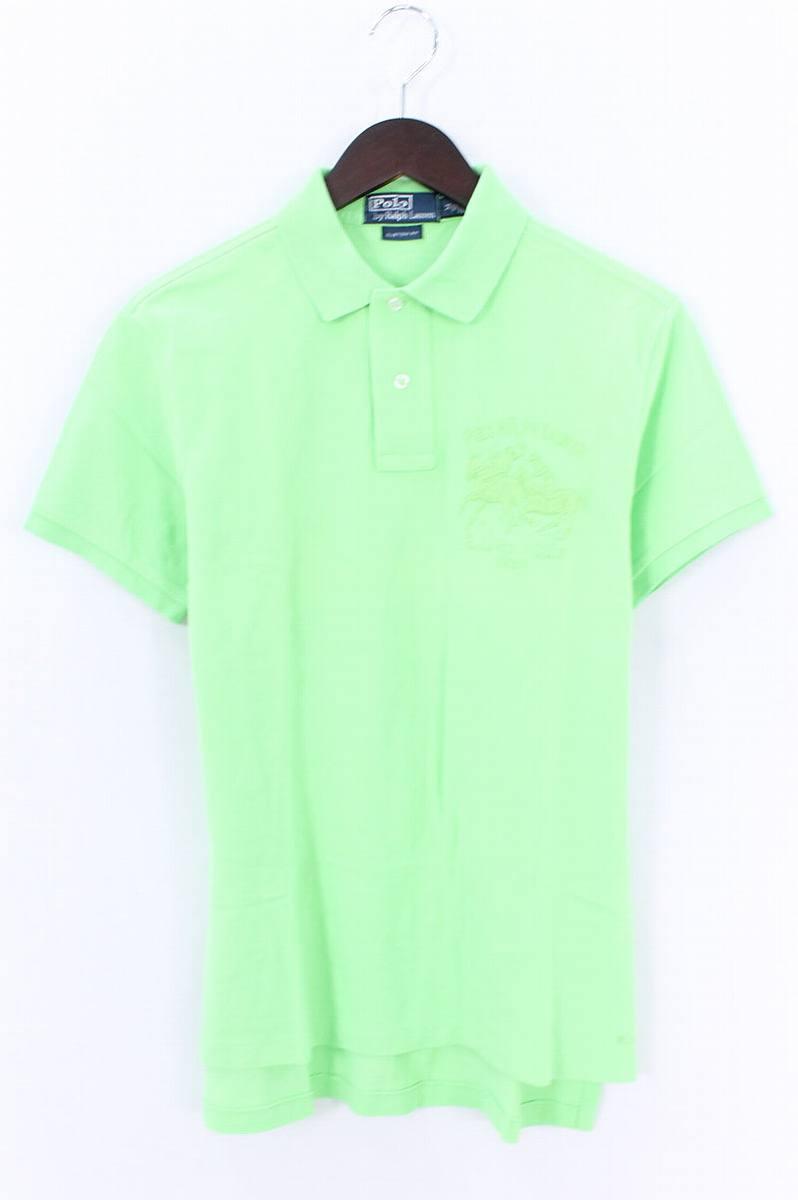 ポロラルフローレン/Polo Ralph Lauren R.L.POLO CLUB 1967半袖ポロシャツ(M/ライトグリーン)【BS99】【メンズ】【107081】【中古】bb13#rinkan*B