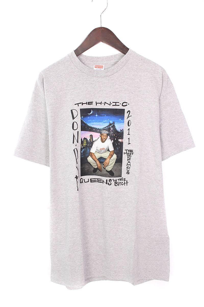 シュプリーム/SUPREME 【11SS】【Mobb Deep Prodigy Tee】プロディジープリントTシャツ(L/グレー)【HJ12】【メンズ】【816081】【中古】bb127#rinkan*S