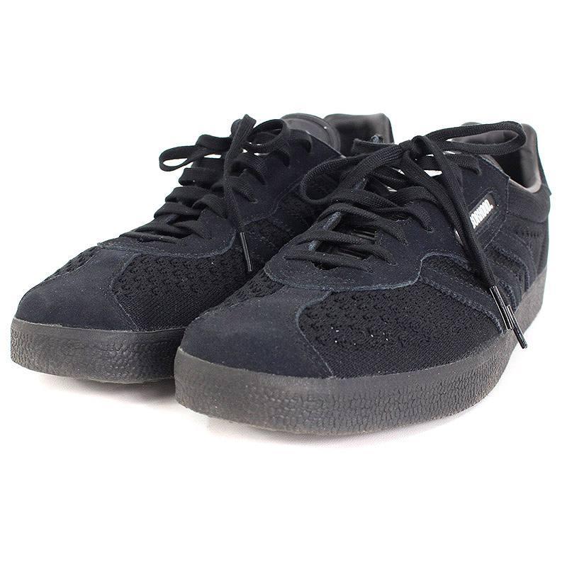 アディダス/adidas ×ネイバーフッド/NEIGHBORHOOD 【GAZELLE SUPER NBHD】スニーカー(29.5cm/ブラック)【BS99】【メンズ】【小物】【107081】【中古】bb168#rinkan*A