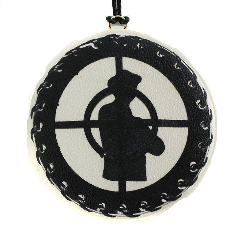 シュプリーム/SUPREME ×アンダーカバー/UNDERCOVER 【18SS】【Public Enemy Medallion Pouch】メダリオンポーチ(ホワイト)【NO05】【小物】【726081】【中古】【準新入荷】bb147#rinkan*B