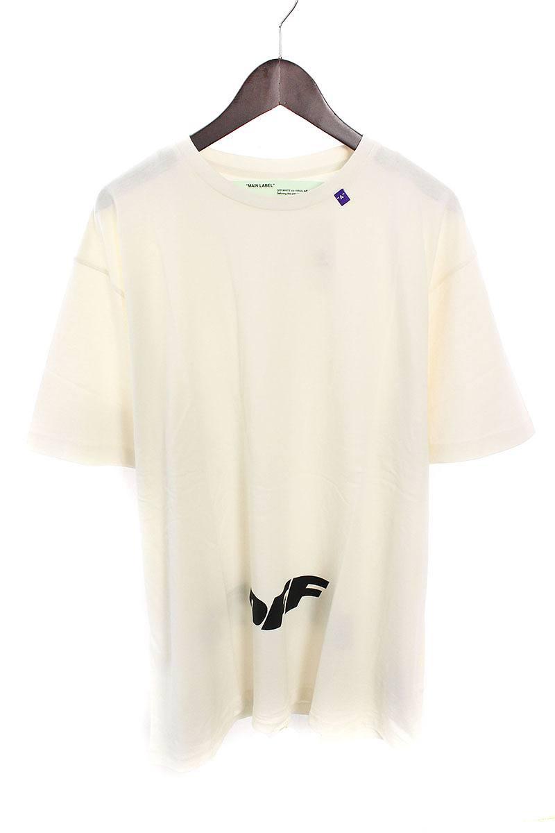 オフホワイト/OFF-WHITE 【18AW】【WING OFF S/S T-SHIRT】ロゴプリントオーバーサイズTシャツ(S/ホワイト)【NO05】【メンズ】【226081】【新古品】bb20#rinkan*N