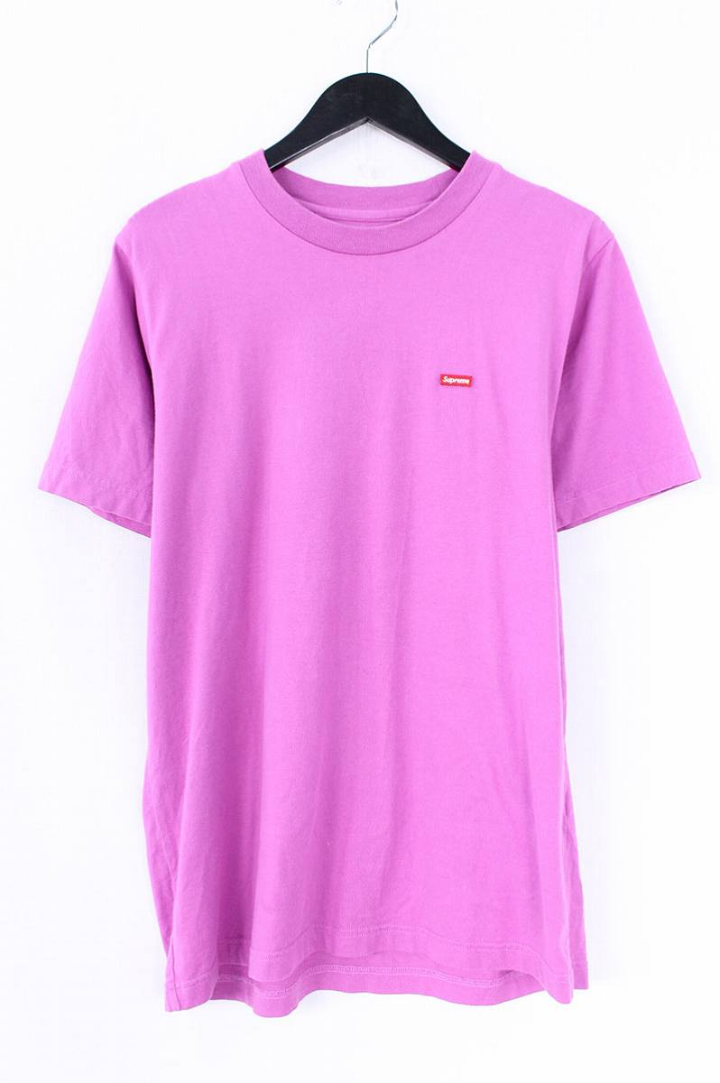 シュプリーム/SUPREME 【18SS】【Small Box Tee】スモールボックスロゴTシャツ(S/パープル調)【SB01】【メンズ】【226081】【中古】bb168#rinkan*B
