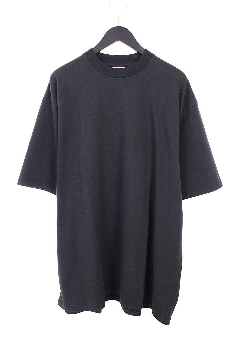 ヴェトモン/VETEMENTS 【16AW】【Snoop Dogg】バックスヌープドッグプリントオーバーサイズTシャツ(S/ブラック)【SB01】【メンズ】【226081】【中古】bb154#rinkan*S