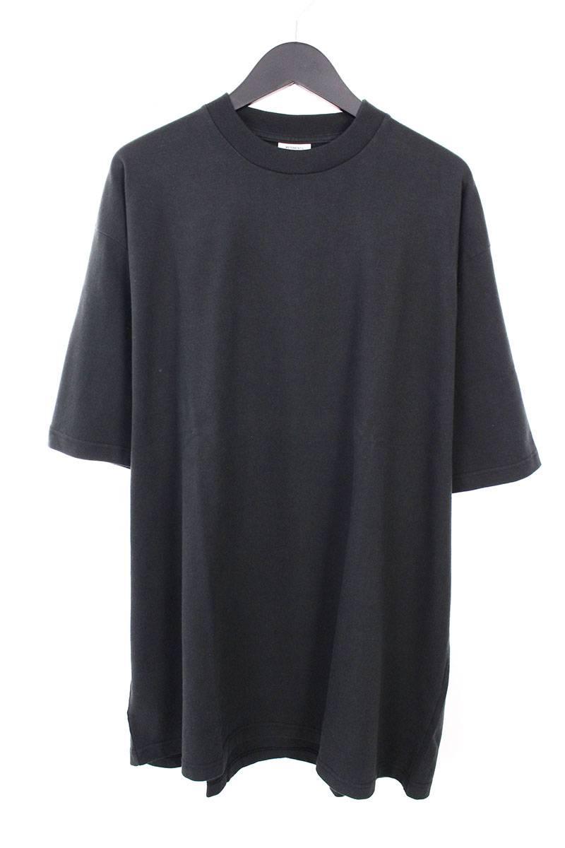 ヴェトモン/VETEMENTS 【16AW】【Snoop Dogg】バックスヌープドッグプリントオーバーサイズTシャツ(S/ブラック)【OM10】【メンズ】【326081】【中古】bb154#rinkan*B