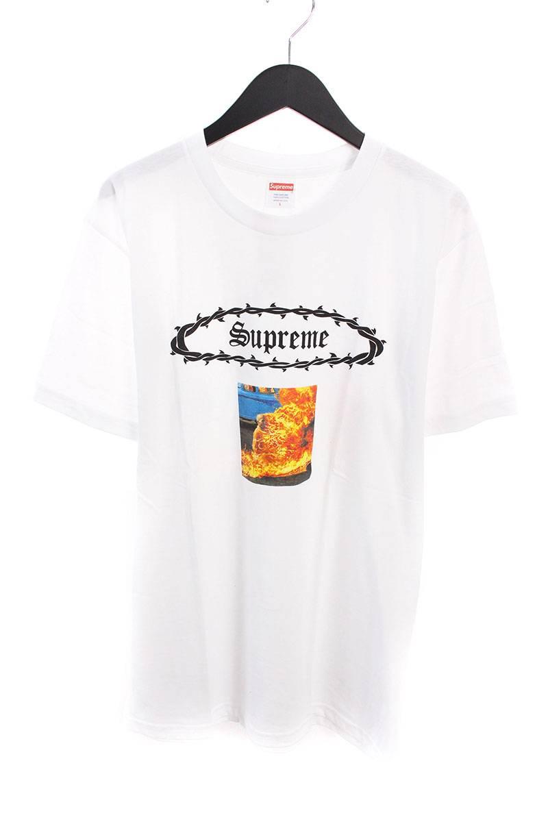 シュプリーム/SUPREME 【17SS】【Eternal Tee】フロントプリントTシャツ(L/ホワイト)【NO05】【メンズ】【426081】【中古】bb76#rinkan*S