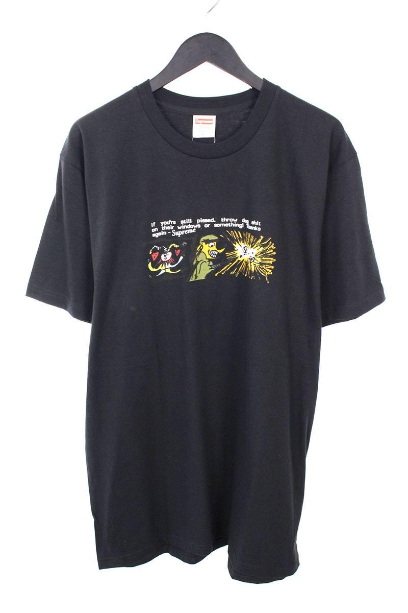 シュプリーム/SUPREME 【17AW】【Dog Shit Tee】ドッグシットプリントTシャツ(L/ブラック)【OM10】【メンズ】【326081】【中古】bb76#rinkan*S