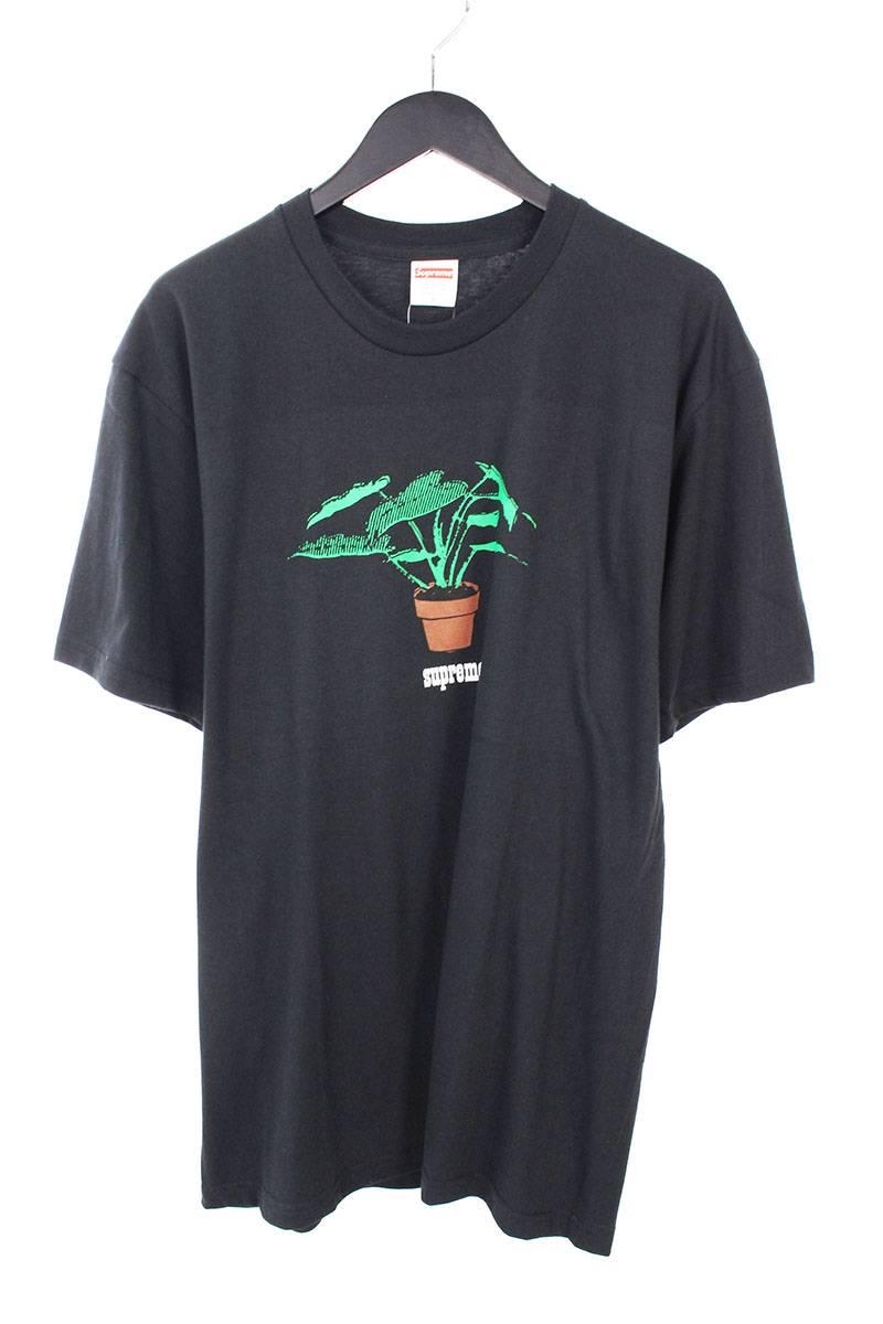 シュプリーム/SUPREME 【17AW】【Plant Tee】プロントプリントTシャツ(L/ブラック)【OM10】【メンズ】【326081】【中古】bb76#rinkan*A