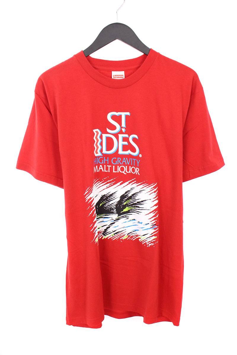 シュプリーム/SUPREME 【16SS】【St Ides Tee】セントアイダスTシャツ(L/レッド)【OM10】【メンズ】【326081】【中古】bb76#rinkan*S