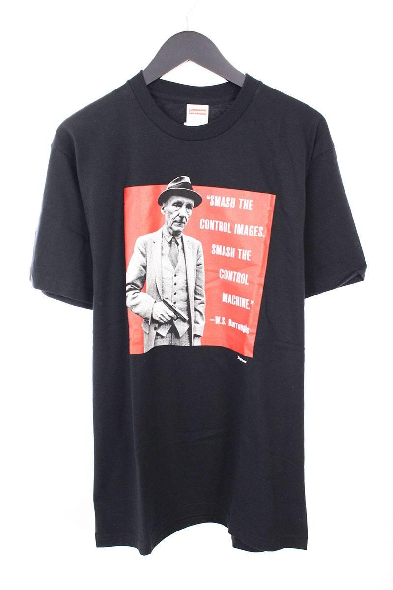 シュプリーム/SUPREME 【16SS】【Burroughs Tee】バローズプリントTシャツ(L/ブラック×レッド)【OM10】【メンズ】【326081】【中古】bb76#rinkan*S