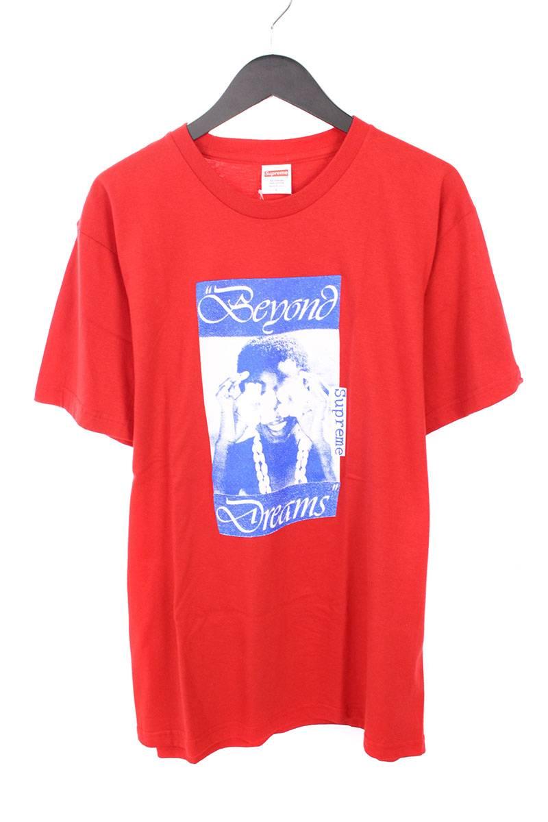 シュプリーム/SUPREME 【16AW】【Beyond Dreams Tee】フロントプリントTシャツ(L/レッド)【OM10】【メンズ】【326081】【中古】bb76#rinkan*S