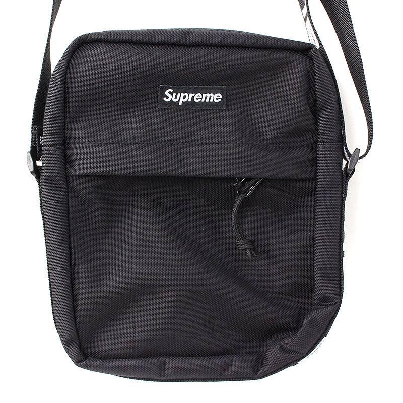 シュプリーム/SUPREME 【18SS】【Shoulder Bag】ボックスロゴナイロンショルダーバッグ(ブラック)【SB01】【小物】【226081】【中古】bb154#rinkan*S