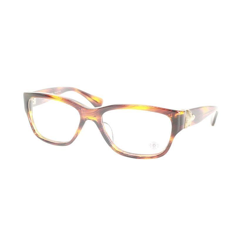 クロムハーツ/Chrome Hearts 【FUPA】眼鏡(ブラウン×シルバー)【SJ02】【小物】【226081】【中古】【P】bb154#rinkan*B