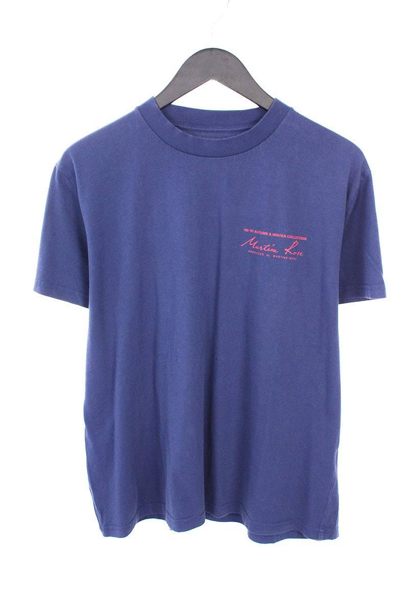 マーティンローズ/MARTIN ROSE ロゴプリントTシャツ(L/ネイビー)【FK04】【メンズ】【726081】【中古】【準新入荷】bb15#rinkan*B