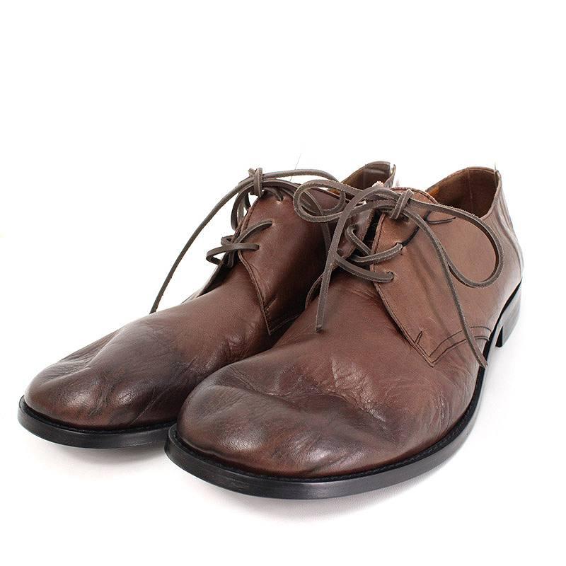 グラム/glamb 【GB16WT / AC14 Fort shoes】レザーフォートシューズ(3/ブラウン)【BS99】【メンズ】【小物】【407081】【中古】bb14#rinkan*A