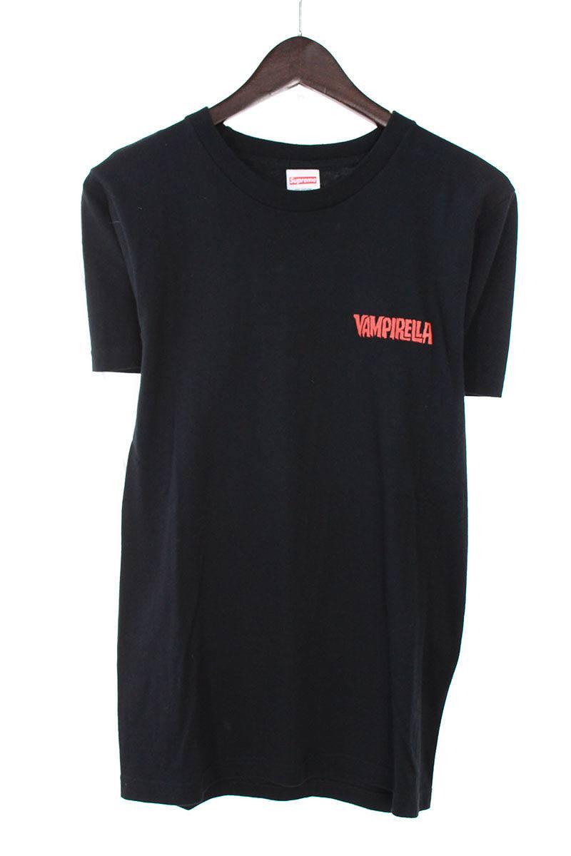 シュプリーム/SUPREME 【17SS】【Vampirella Card Tee】バックプリントTシャツ(S/ブラック)【OS06】【メンズ】【726081】【中古】【準新入荷】bb143#rinkan*B