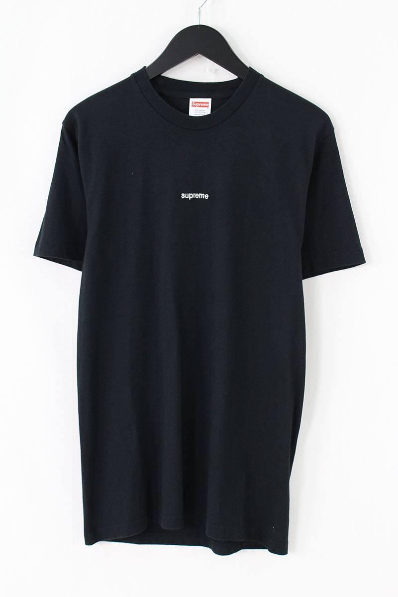 シュプリーム/SUPREME 【18SS】【FTW Tee】ロゴ刺繍Tシャツ(S/ブラック)【OM10】【メンズ】【726081】【中古】【準新入荷】bb143#rinkan*A