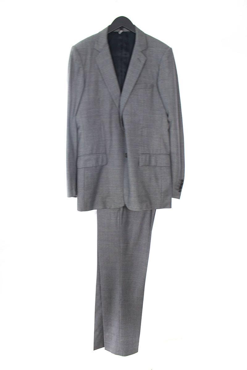 ディオールオム/Dior HOMME 【08AW】【8H3170120819】グレンチェック2Bジャケットスーツ(46/グレー)【SB01】【メンズ】【726081】【中古】【準新入荷】bb51#rinkan*C