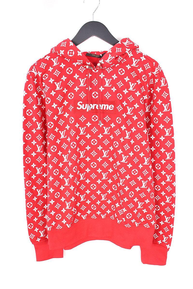 最適な価格 シュプリーム/SUPREME ×ルイヴィトン/LOUISVUITTON Hooded【17AW】【LV Box Logo Logo【17AW】【LV Hooded Sweatshirt】ボックスロゴプルオーバーパーカー(L/レッド)【HJ12】【メンズ】【307081】【】bb76#rinkan*S, Fine Interior ファインインテリア:5d69f2f5 --- baecker-innung-westfalen-sued.de