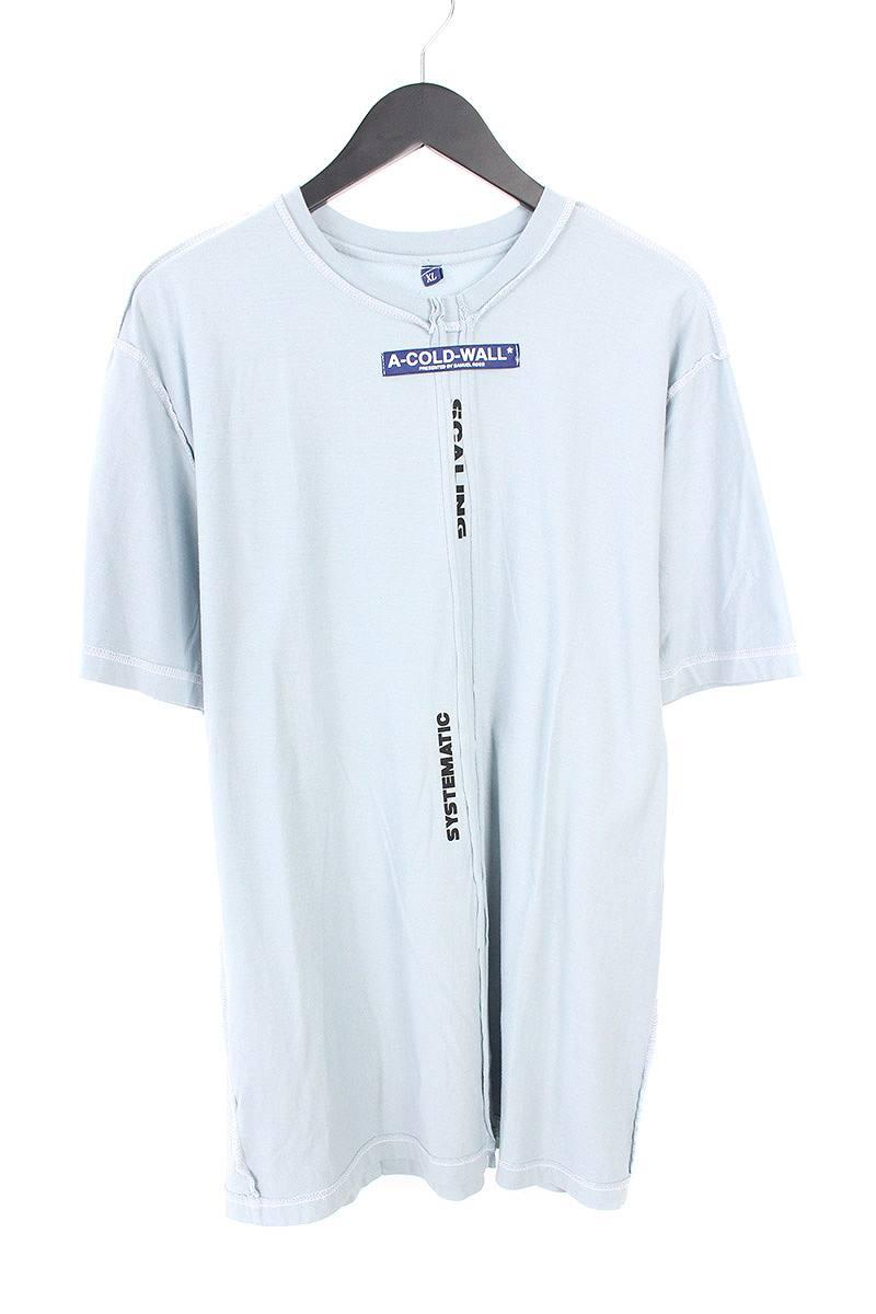 アコールドウォール/A-COLD-WALL 【17AW】【Systematic Scaling B/1 T-Shirt CW-A17-0000-151】システマチック再構築Tシャツ(XL/ライトグレー)【SB01】【メンズ】【917081】【中古】【準新入荷】bb154#rinkan*B