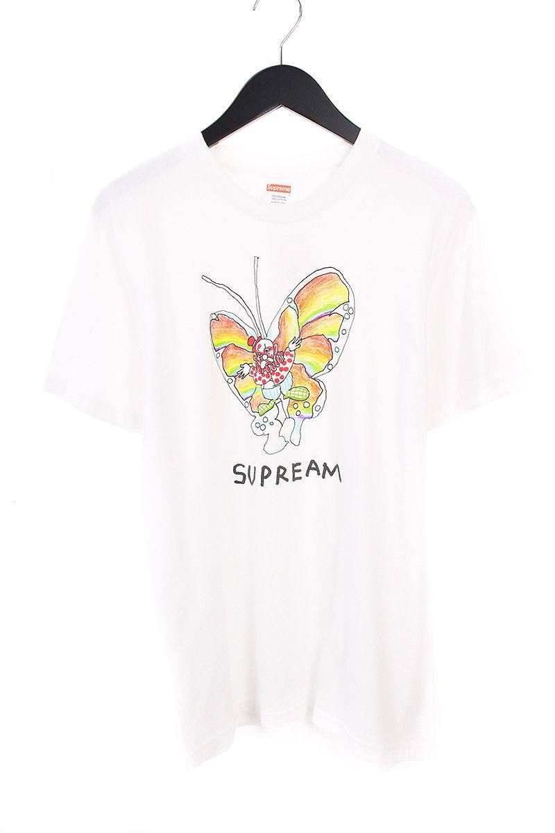シュプリーム/SUPREME 【16SS】【Gonz Butterfly Tee】ゴンズバタフライTシャツ(M/ホワイト)【OM10】【メンズ】【917081】【中古】【P】bb13#rinkan*B