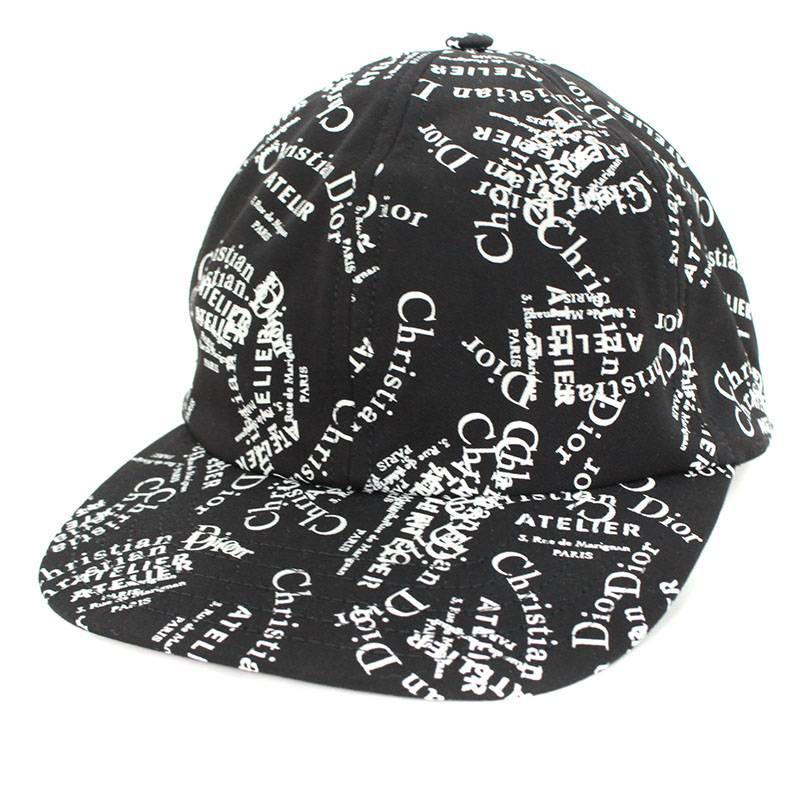 ディオールオム  Dior HOMME.  18AW   733C903A4303  an atelier logo whole pattern  baseball cap 7785bda26b84
