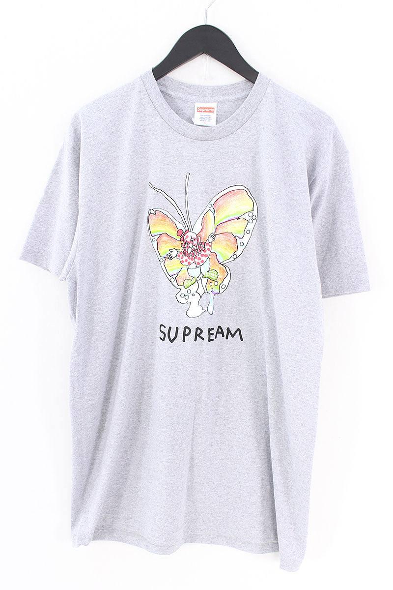 シュプリーム/SUPREME 【16SS】【Gonz Butterfly Tee】ゴンズバタフライTシャツ(L/グレー)【OM10】【メンズ】【808081】【中古】【準新入荷】bb10#rinkan*S