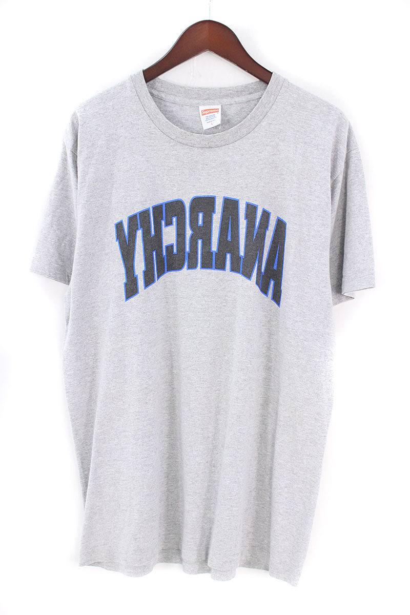 シュプリーム/SUPREME 【14SS】【Anarchy Tee】アナーキーTシャツ(L/グレー)【OM10】【メンズ】【808081】【中古】【P】[5倍]bb10#rinkan*B