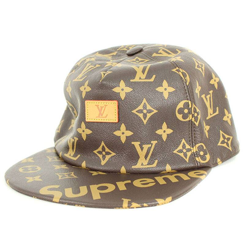 df0d8d83b59 X Louis Vuitton  LOUISVUITTON  17AW   LV 5-Panel Hat  monogram leather cap  hat