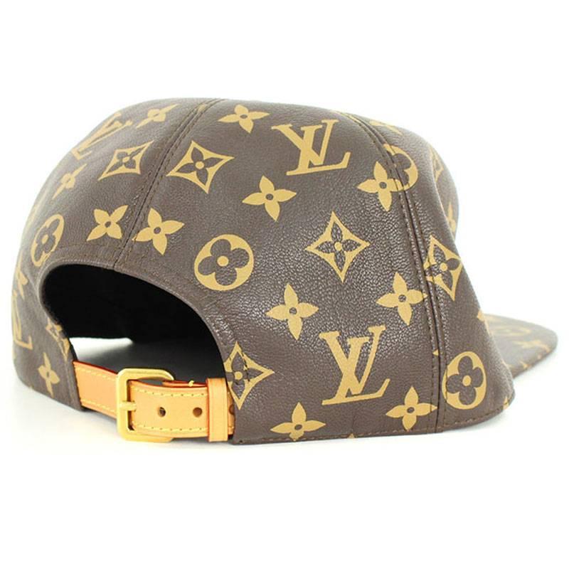 9e84be6f X Louis Vuitton /LOUISVUITTON [17AW] [LV 5-Panel Hat] monogram leather cap  hat