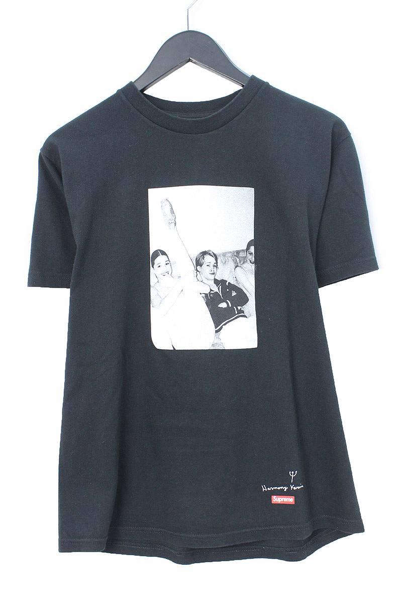 シュプリーム/SUPREME 【11AW】【Harmony Korine】マコーレカルキンフォトTシャツ(S/ブラック)【HJ12】【メンズ】【328081】【中古】【P】[5倍]bb127#rinkan*B